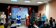 В ивановском Детско-юношеском центре прошел новогодний праздник